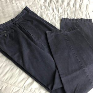 Ralph Lauren Navy Pleated Polo Chinos 36/32